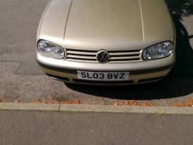 Vw golf 1.9 tdi 94k miles !