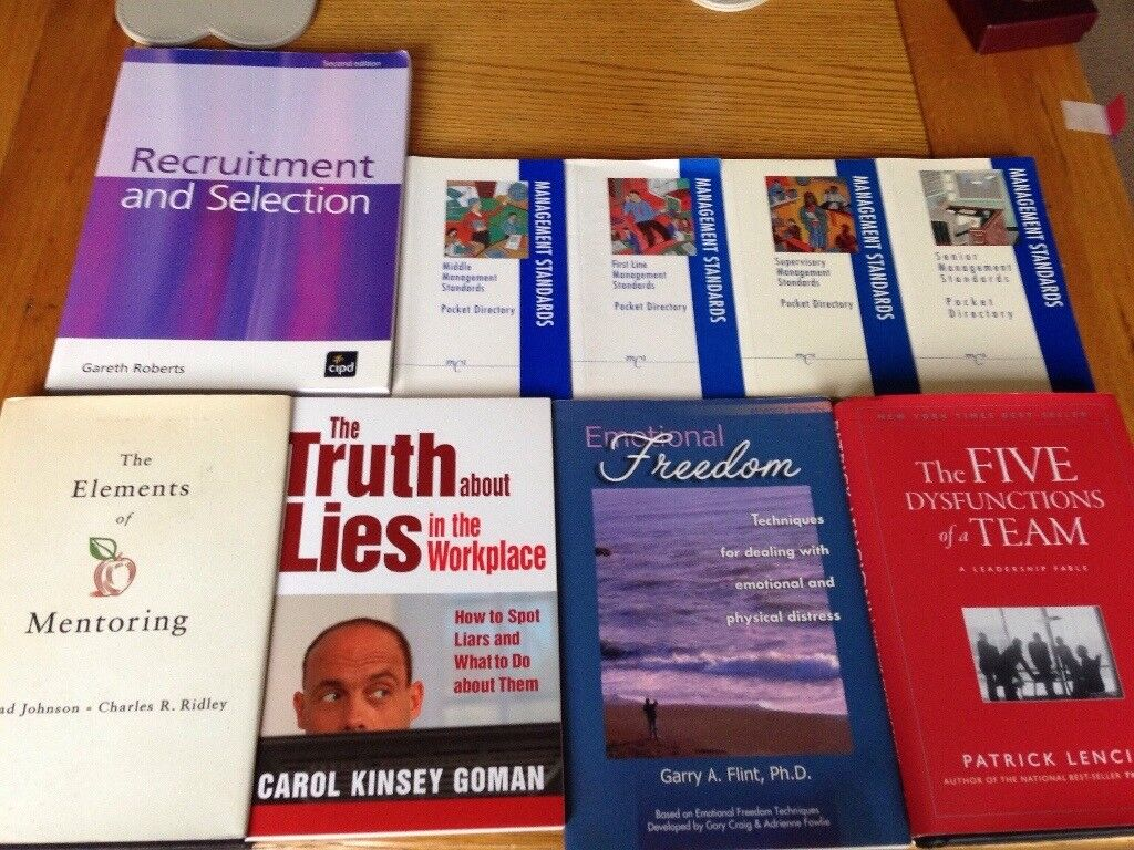 Selection of HR Human Resources text books