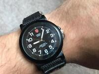 Bargain military style men's watch