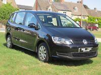 VW Sharan 2014 2.0tdi bluemotion dsg with just 34189 miles FSH