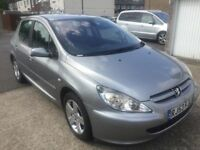 2003 PEUGEOT 307 1.6 / ONLY 67000 MILES / VERY CLEAN CAR / BARGAIN ONLY £995