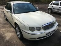 Rover 75 white great reliable car