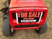 Lawn Flite ride on tractor