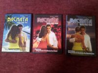 LEARN BACHATA DVDs VOLS 1, 2 & 3 (£10 LOT)