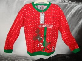 New Nottingham Forest Christmas Jumpers RRP £30.00