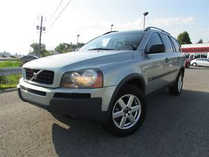 2004 Volvo XC90 2.5T AWD 7 PASSAGERS CUIR TOIT OUVRANT!!!