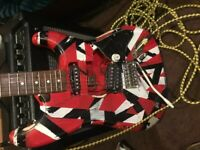 Frankenstein strat guitar