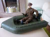 1970s Palitoy Action Man Power Boat with engine