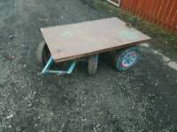 Turntable boggy trailer easy project