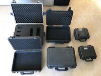 Various Waterproof Hard Cases