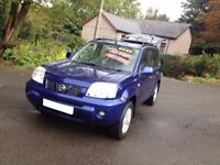 HI SPEC NISSAN X TRAIL 4WD DCI SIX SPEED GEARBOX/IDEAL SIZE 4WD/TOW PACK WITH ELECTRICS/suzuk vitara