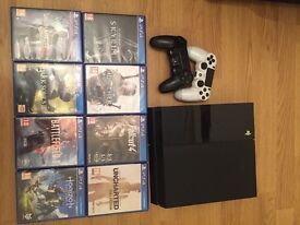 PS4 whit 19 games included