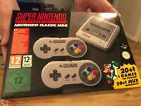 Classic mini super Nintendo SNES
