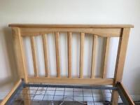 VGC 3 Foot Single Wooden Bed Frame.