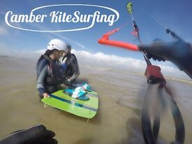 Learn to Kitesurf! Lessons with Camber Kitesurfing