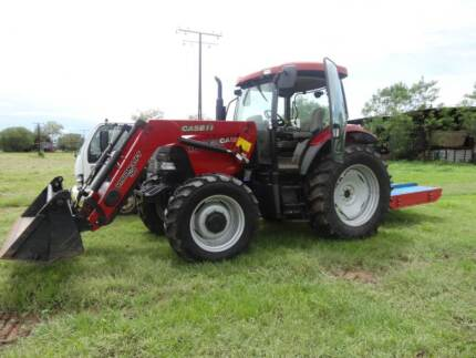 **LOW HOURS*  2007 CASE IH MAXXUM 110 WITH IMPLEMENTS Richmond Valley Preview