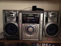 Panasonic SA-AK30 HiFi 5 CD Changer, Tuner, Cassette deck, Aux Input