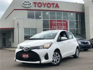 2015 Toyota Yaris LE|Single Owner|Great First Car