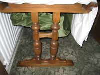 Ercol Extending dining table seats 12 + Swanback dining chairs