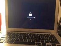 Locked macbook air
