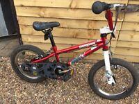 Mongoose 14 inch bike