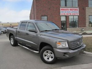 CLEAN 2008 DODGE DAKOTA SXT CREW 4X4 V8 $10,999 SOLD CERTIFIED