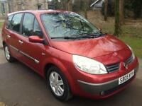 RENAULT GRAND SCENIC 1.6 VVT Dynamique 5dr (red) 2005