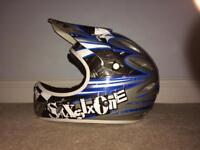Full face BMX helmet