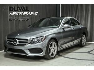 2017 Mercedes-Benz C-Class C300 4MATIC/ TOUT EQUIPPÉ + SPORT PAC