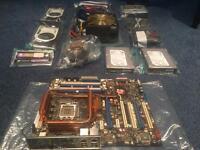 JOB LOT GAMING PC BUNDLE . Quad core - 8gb ram - geeforce +++