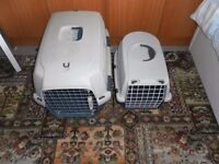 Two Pet Carriers