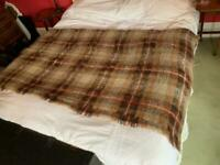 Extra large mohair blanket