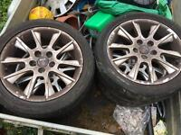 17inch Saab wheels and tyres x4