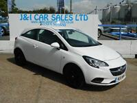 VAUXHALL CORSA 1.2 EXCITE AC 3d 69 BHP A GREAT EXAMPLE INSIDE AND (white) 2015