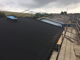 Felt roofing labour required!