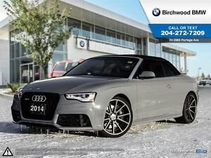 2014 Audi RS 5 2dr Conv $4k Vossen Wheels! No Accidents!