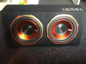 Subwoofer edge twin