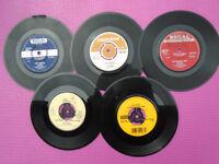 5 Original Vintage 45rpm Vinyl Records .. ' THE MOVE '