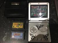 Gameboy advance sp tribal edition