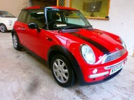 2004 MINI HATCH 1,6 ONE 3DOOR, LOW MILES, CLEAN CAR, DRIVES VERY NICE, SERVICE HISTORY, HPI CLEAR