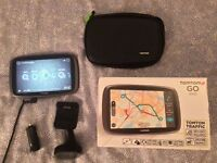 """TOMTOM GO 6100 sat nav 6"""" touch screen with world wide maps"""