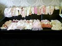 Huge bundle of brand new baby girl clothes