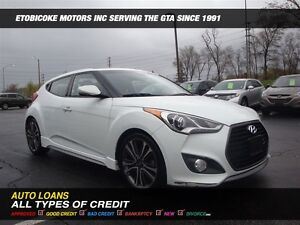 2016 Hyundai Veloster TURBO / NAVIGATION / BACK-UP CAM