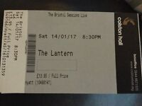 6 tickets for The Bristol Sessions at The Lantern, Colston Hall on 14th January