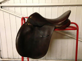 "Ideal 17"" GP Saddle and Various items"