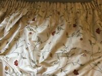 Large Lined Curtains
