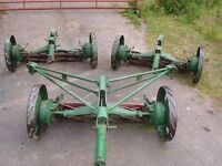 Ransomes Jeffries Gang Mowers Mark 10 - OPEN TO OFFERS