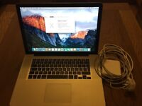 MacBook Pro 15 inch late 2011 (2.4Ghz i7, 8Gb Ram, 750Gb HDD)