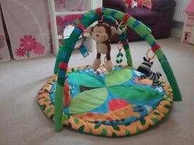 Mothercare Jungle Playmat/Baby Gym. Excellent Condition.