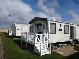 8 Berth (38x12ft) Luxury 2015 caravan located at Haven site, Caister near Great Yarmouth